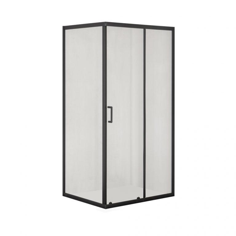 Kabina prysznicowa – AVEEO LUFTIGA BLACK 120 x 80